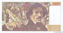 100 Francs DELACROIX imprimé en continu FRANCE  1991 F.69bis.03a3 SUP