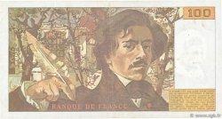 100 Francs DELACROIX imprimé en continu FRANCE  1993 F.69bis.08 TB