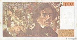 100 Francs DELACROIX imprimé en continu FRANCE  1993 F.69bis.08 TTB