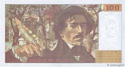 100 Francs DELACROIX 442-1 & 442-2 FRANCE  1995 F.69ter.02b
