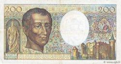200 Francs MONTESQUIEU FRANCE  1981 F.70.01 TB+