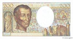 200 Francs MONTESQUIEU FRANCE  1982 F.70.02 SUP