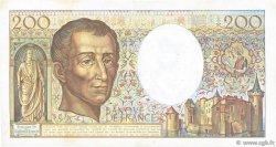 200 Francs MONTESQUIEU FRANCE  1982 F.70.02 TTB