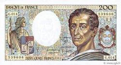 200 Francs MONTESQUIEU FRANCE  1983 F.70.03 TTB+