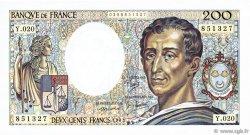 200 Francs MONTESQUIEU FRANCE  1983 F.70.03 SUP