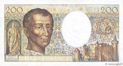 200 Francs MONTESQUIEU FRANCE  1985 F.70.05