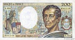 200 Francs MONTESQUIEU FRANCE  1985 F.70.05 TB+