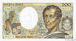 200 Francs MONTESQUIEU FRANCE  1986 F.70.06 SUP