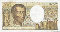 200 Francs MONTESQUIEU FRANCE  1986 F.70.06 TB