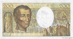 200 Francs MONTESQUIEU FRANCE  1987 F.70.07 TTB