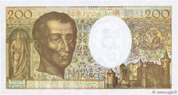 200 Francs MONTESQUIEU FRANCE  1990 F.70.10a SUP