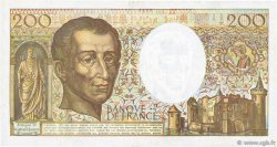 200 Francs MONTESQUIEU FRANCE  1990 F.70.10a TTB