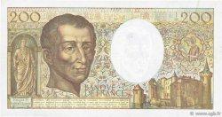 200 Francs MONTESQUIEU FRANCE  1990 F.70.10a TTB