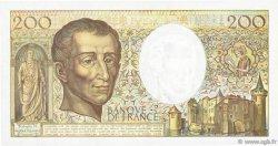 200 Francs MONTESQUIEU FRANCE  1990 F.70.10b TTB+