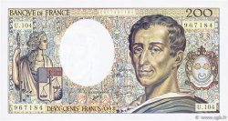 200 Francs MONTESQUIEU FRANCE  1992 F.70.12a SPL