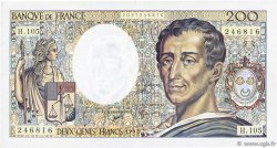 200 Francs MONTESQUIEU FRANCE  1992 F.70.12a TTB
