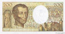 200 Francs MONTESQUIEU FRANCE  1990 F.70.10c TTB+