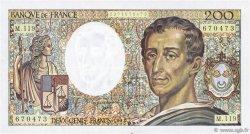 200 Francs MONTESQUIEU FRANCE  1992 F.70.12b TTB+