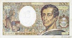 200 Francs MONTESQUIEU FRANCE  1992 F.70.12b TTB