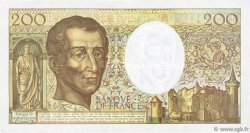 200 Francs MONTESQUIEU FRANCE  1992 F.70.12b TTB