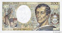200 Francs MONTESQUIEU Modifié FRANCE  1994 F.70/2.01 TTB+