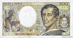 200 Francs MONTESQUIEU Modifié FRANCE  1994 F.70/2.01 SUP