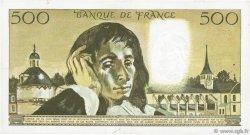 500 Francs PASCAL FRANCE  1968 F.71.02 TTB