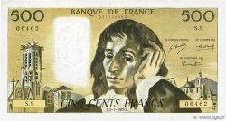 500 Francs PASCAL FRANCE  1969 F.71.03 TTB