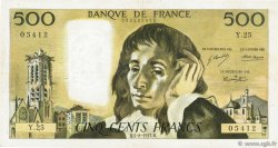 500 Francs PASCAL FRANCE  1971 F.71.06 pr.TTB