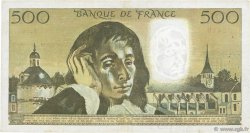 500 Francs PASCAL FRANCE  1973 F.71.10 TB à TTB