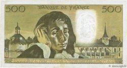 500 Francs PASCAL FRANCE  1973 F.71.10 pr.TTB