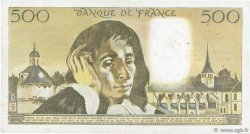 500 Francs PASCAL FRANCE  1976 F.71.15 pr.TTB