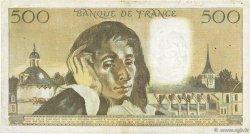 500 Francs PASCAL FRANCE  1976 F.71.15 TB+