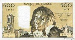 500 Francs PASCAL FRANCE  1977 F.71.17 TB+