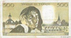 500 Francs PASCAL FRANCE  1977 F.71.17 TTB