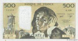 500 Francs PASCAL FRANCE  1981 F.71.23 TTB+