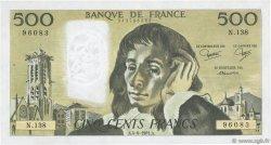 500 Francs PASCAL FRANCE  1981 F.71.24 TTB+
