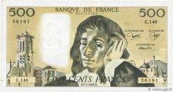 500 Francs PASCAL FRANCE  1981 F.71.25 TTB