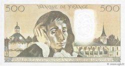 500 Francs PASCAL FRANCE  1982 F.71.26 SUP