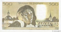 500 Francs PASCAL FRANCE  1983 F.71.29 TTB