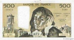 500 Francs PASCAL FRANCE  1984 F.71.30 B