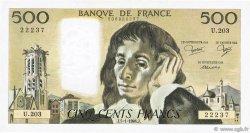 500 Francs PASCAL FRANCE  1984 F.71.30 TTB+