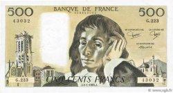 500 Francs PASCAL FRANCE  1985 F.71.32 TTB