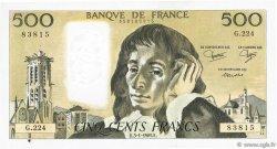 500 Francs PASCAL FRANCE  1985 F.71.32 SUP