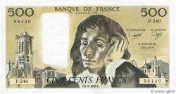 500 Francs PASCAL FRANCE  1986 F.71.34 SUP