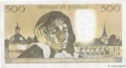 500 Francs PASCAL FRANCE  1986 F.71.34 TTB