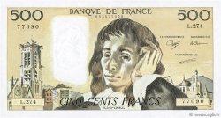 500 Francs PASCAL FRANCE  1988 F.71.38 TTB+