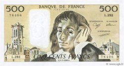 500 Francs PASCAL FRANCE  1989 F.71.40 pr.NEUF