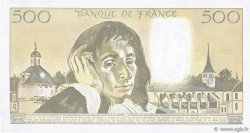 500 Francs PASCAL FRANCE  1989 F.71.41 SUP+