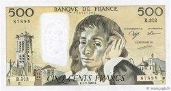 500 Francs PASCAL FRANCE  1990 F.71.43 TTB+